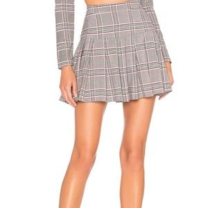 NBD pleated skirt from Revolve